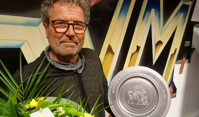 Jan Rigter, verzorger SVM1, neemt afscheid.